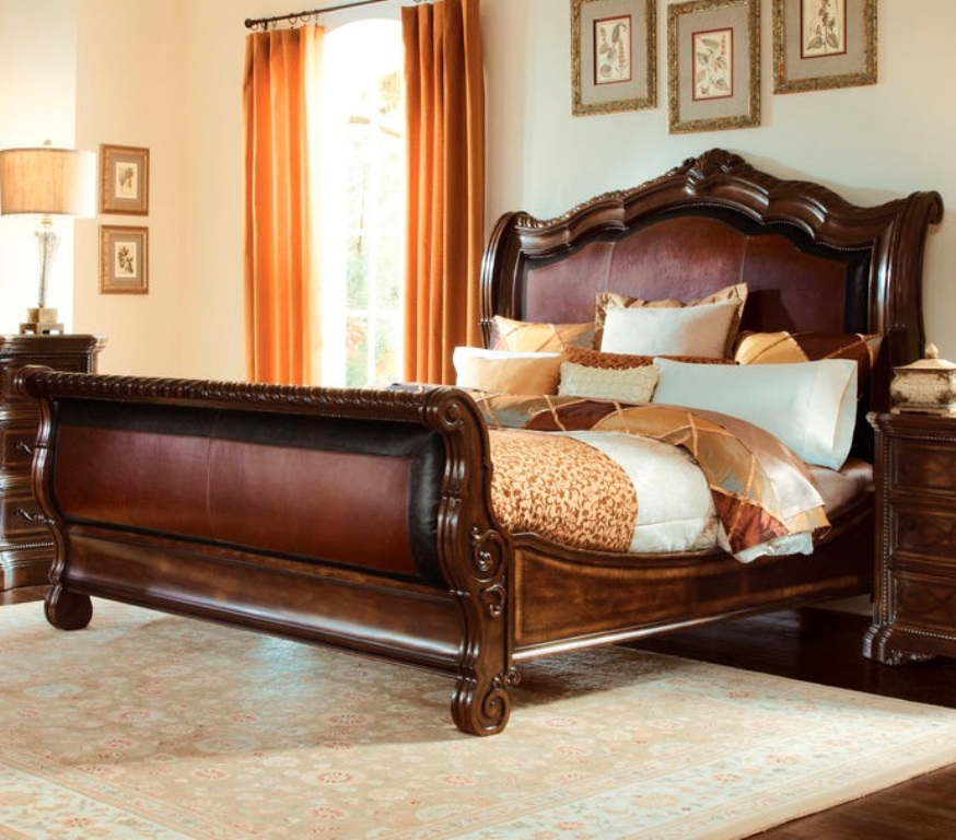 Art furniture valencia california king upholstered for Sofas outlet valencia