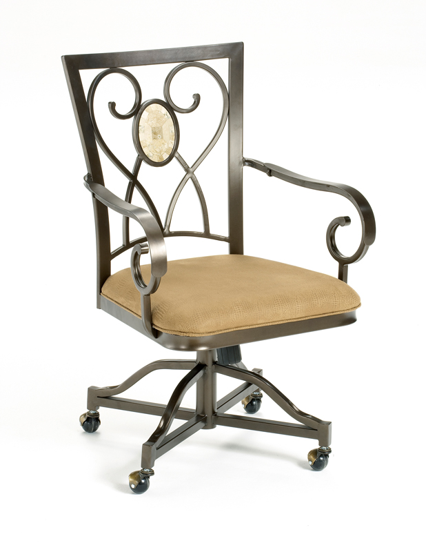 Hillsdale Brookside Oval Caster Chair Set Of 2 - 4815-804