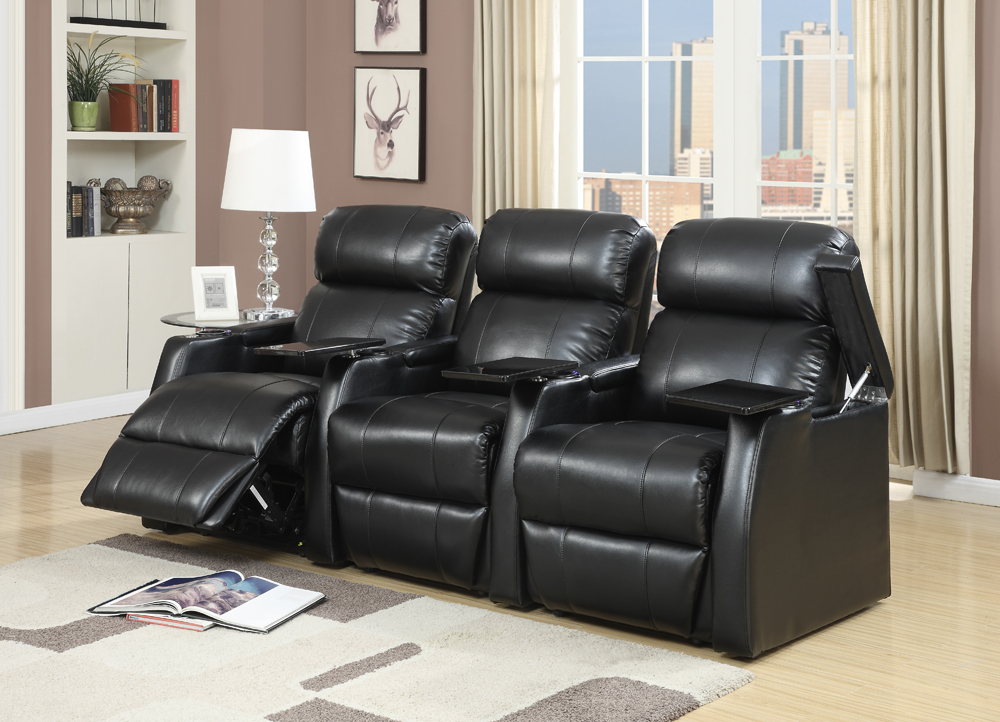 Picket House Furnishings - Cecille Power 3pc Recliner Set...