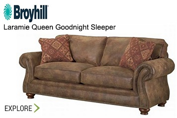 Broyhill Laramie Queen Goodnight Sleeper