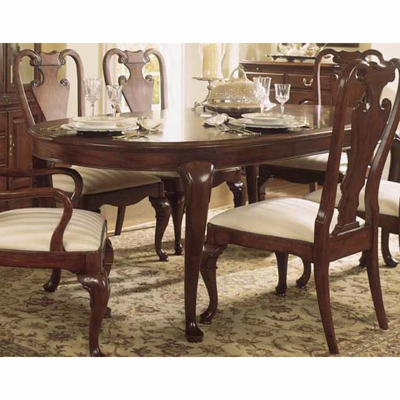 American Drew Cherry Grove 45th Traditional Oval Dining: Cherry Grove Oval Leg Table