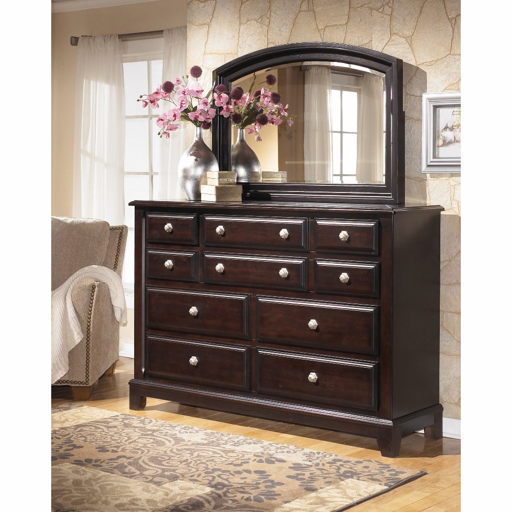 Signature Design By Ashley Ridgley Bedroom Dresser And Mirror B520 31 36