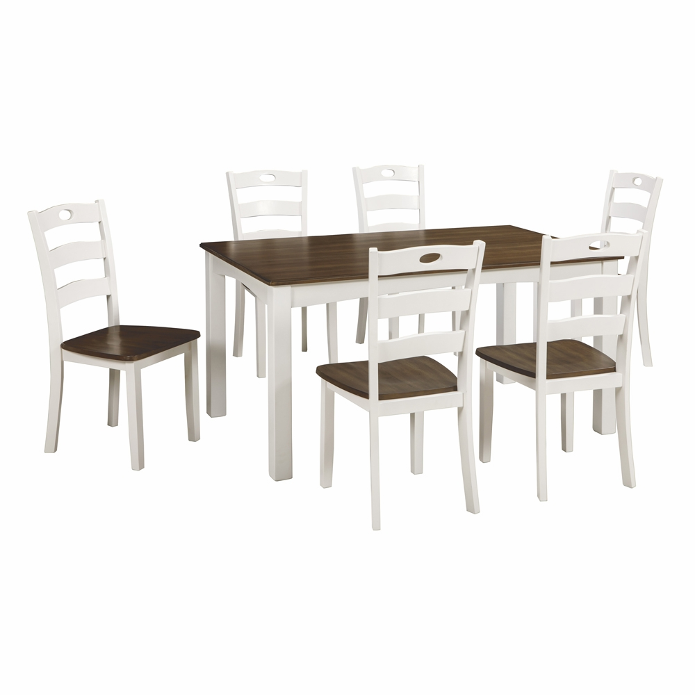 Signature Design By Ashley   Woodanville Dining Room Table Set (7/Cn)    D335 425