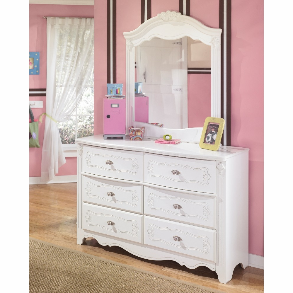 Signature Design By Ashley Exquisite Bedroom Dresser And Mirror B188 21 26