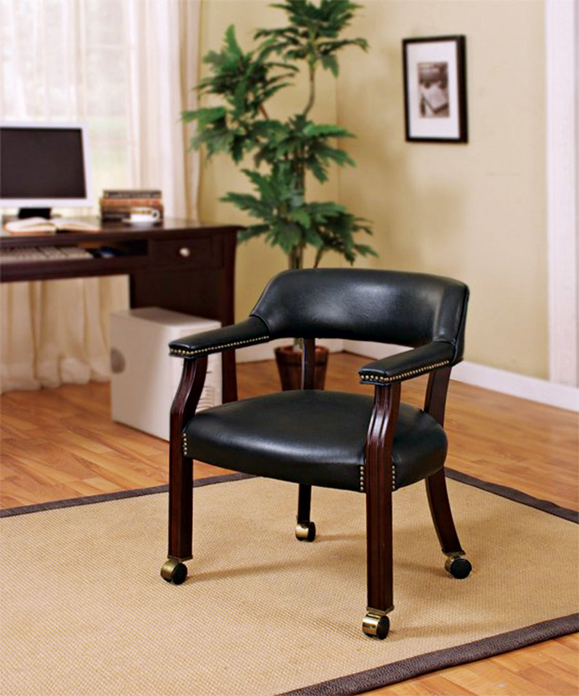 Office Guest Chair (Black)