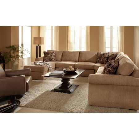 Broyhill Veronica 4 Piece Sectional Sofa