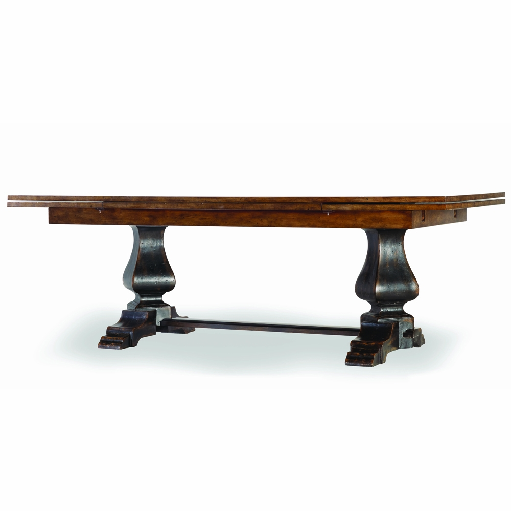Amazing Hooker Furniture   Sanctuary Refectory Table   Ebony U0026 Drift   3005 75207