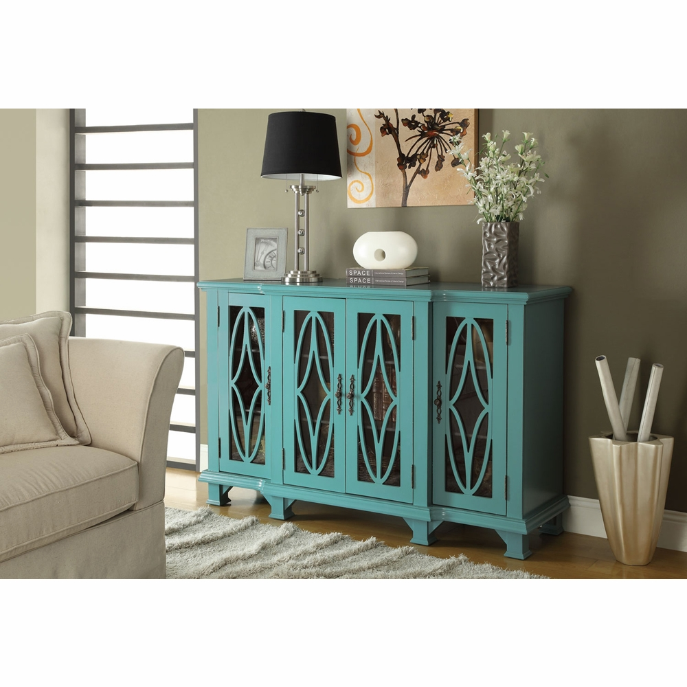 Coaster Accent Cabinet Teal Blue 950245
