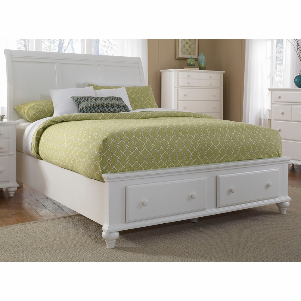 Broyhill hayden place king sleigh bed with storage - Broyhill hayden place bedroom set ...