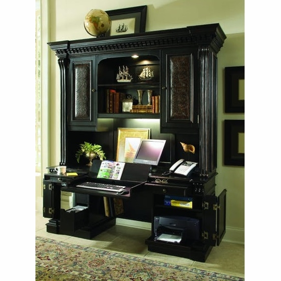 Hooker Furniture   Telluride Computer Credenza With Hutch   370 10 464_467