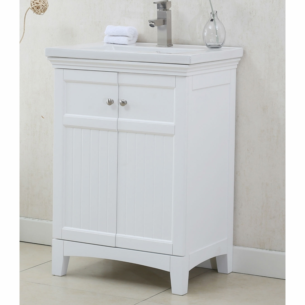top sink matt set furniture vanity wood bathroom with ceramic white color legion no faucet