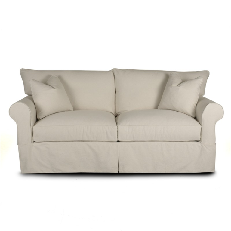 Klaussner Jenny Sofa In Bull Natural 12013120453