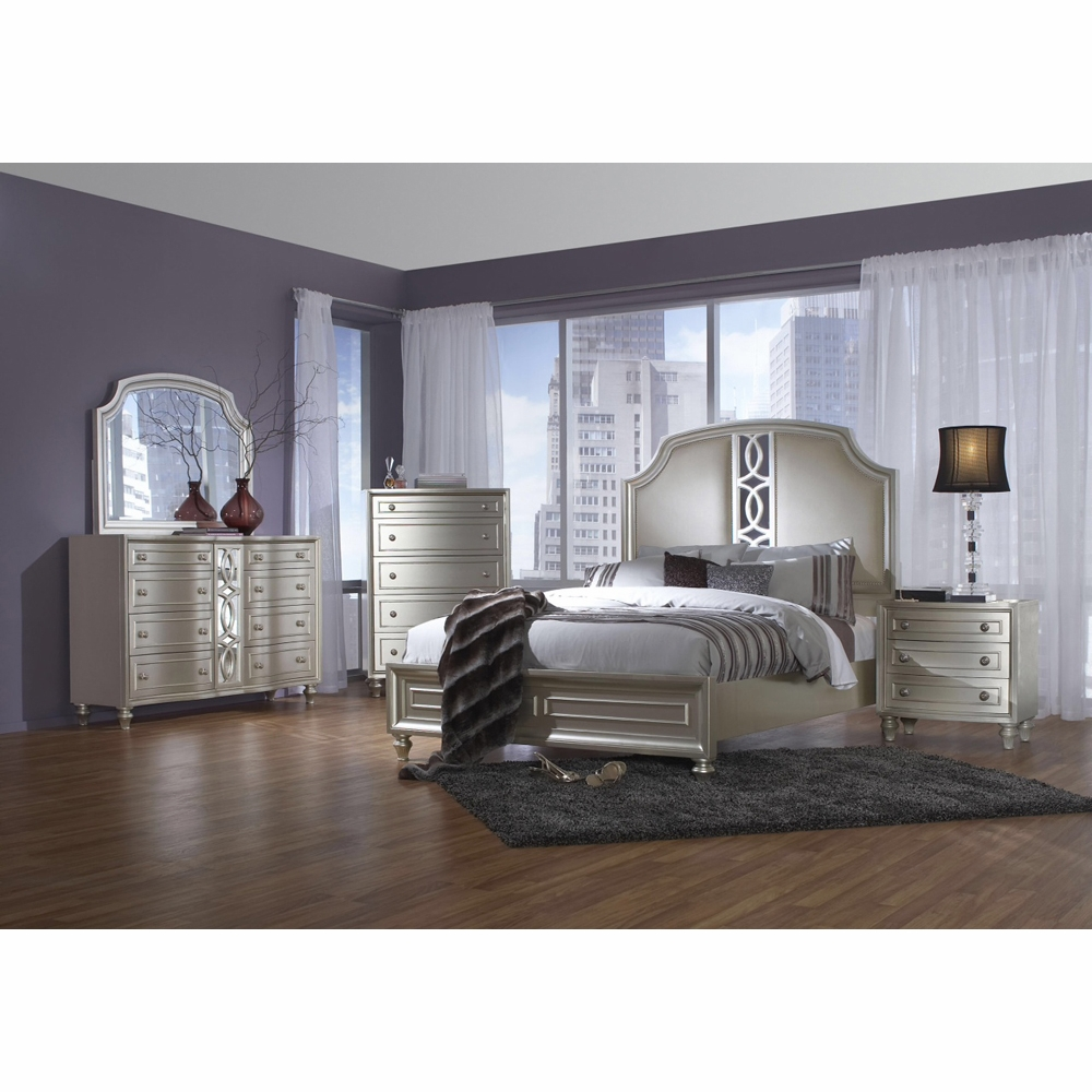 Captivating Avalon   Regency Park 5 Piece Queen Bedroom Set   B00481 5H_5F_56R_M_C_N_D