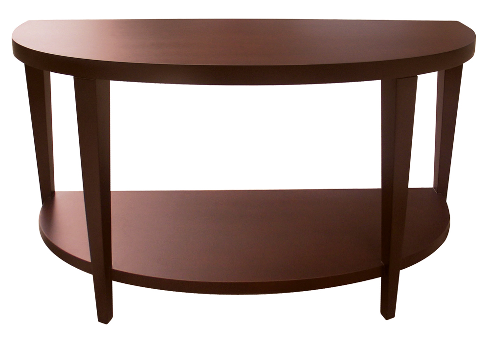 Marla Half Moon Console Table With