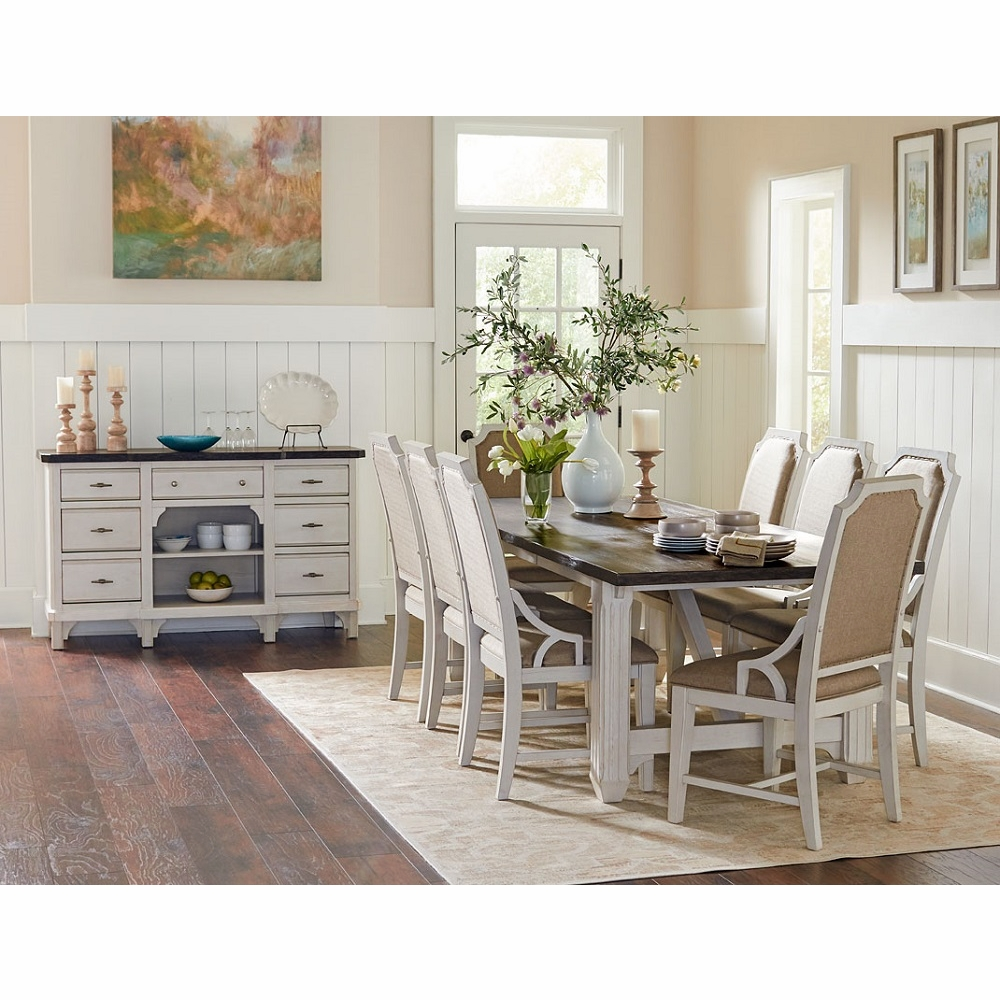 Mystic Cay 10 Piece Dining Set With Sideboard