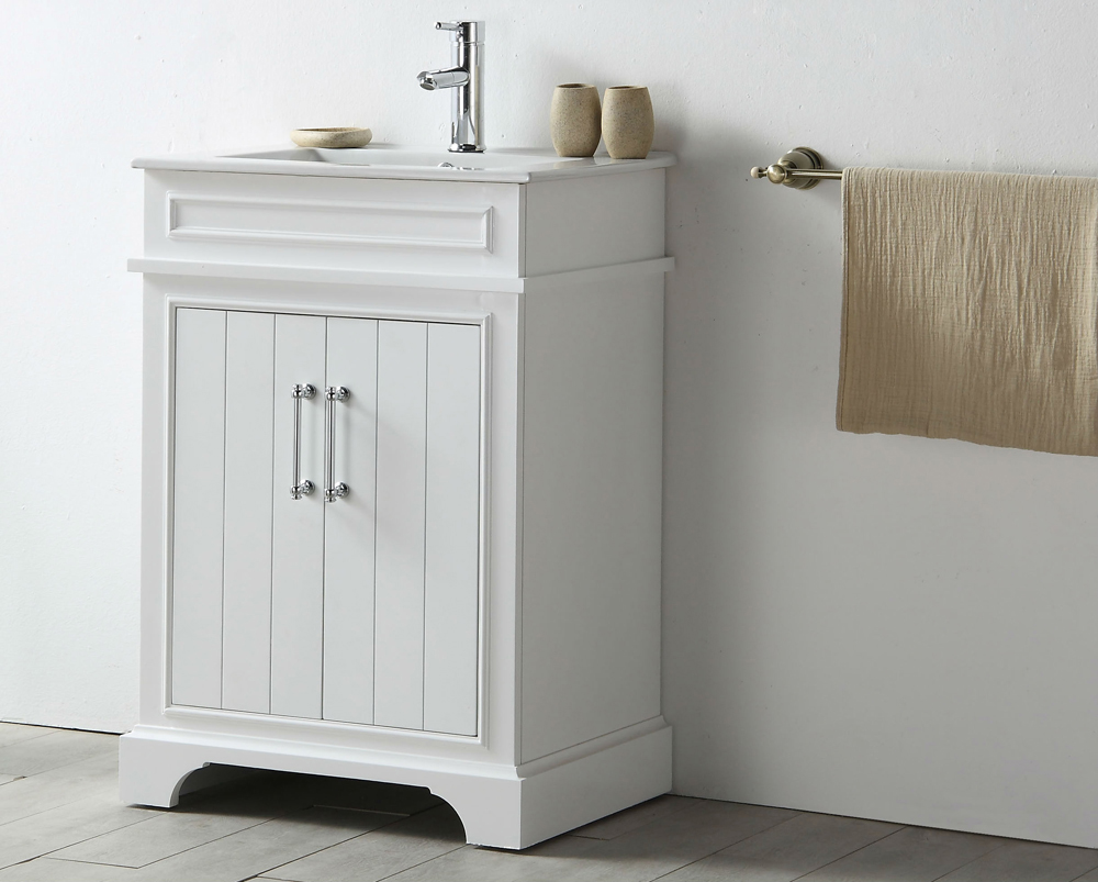 "Legion Furniture - 24"" Sink Vanity With Ceramic Top In Wh..."