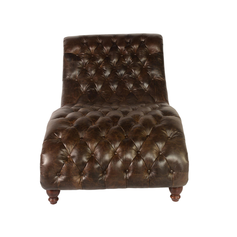 lazzaro cathay chaise and half in brompton chocolate. Black Bedroom Furniture Sets. Home Design Ideas