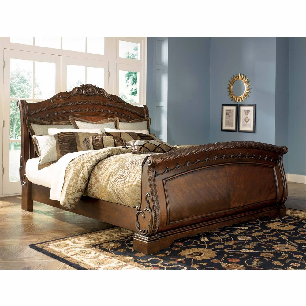Signature Design By Ashley North Shore Millennium King Sleigh Bed