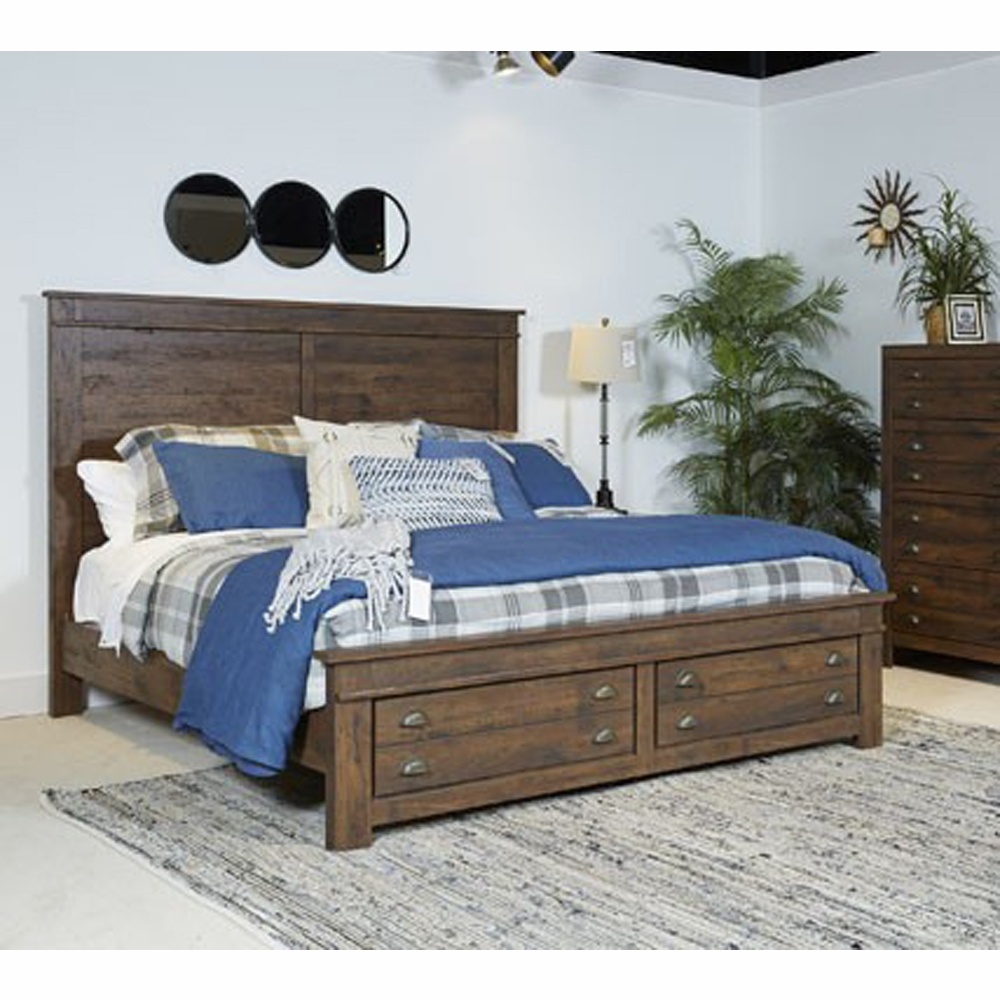 & Signature Design by Ashley - Hammerstead King Storage Bed