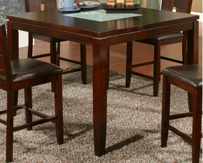 Alpine Furniture Lakeport Counter Height Table With Broke...