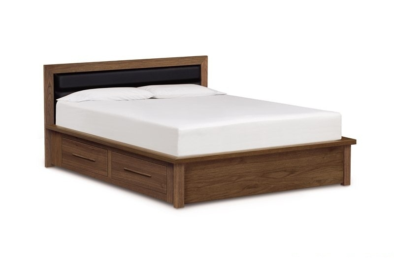 """Copeland Moduluxe 35"""" Queen High Plinth Base Bed With Uph..."""