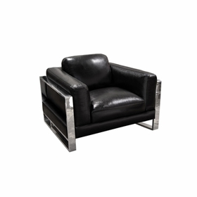 Leather Single Chairs by Diamond Sofa