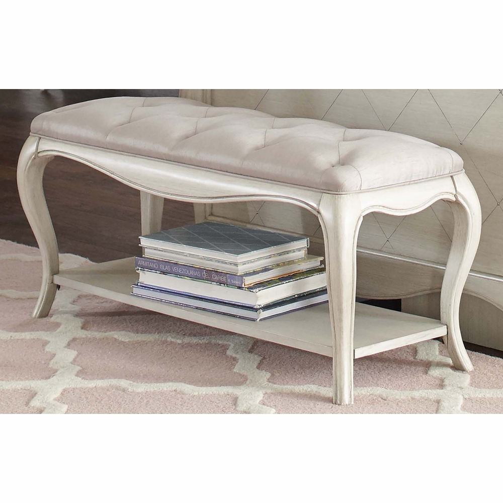 Hillsdale Kids Angela Bed Bench With Tufted Top - Angela coffee table