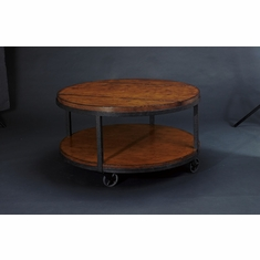 Hammary   Baja Round Cocktail Table   T2075205 00