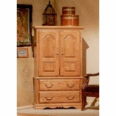 Bebe Furniture   Country Heirloom Small Tv Armoire Wardrobe With Shelf U0026 Tv  Swivel   507N