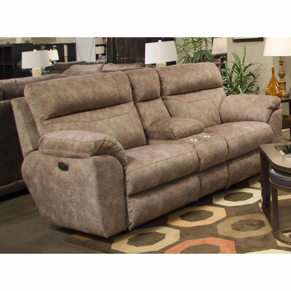 premier gallery loveseat new console classic flynn power media black reclining