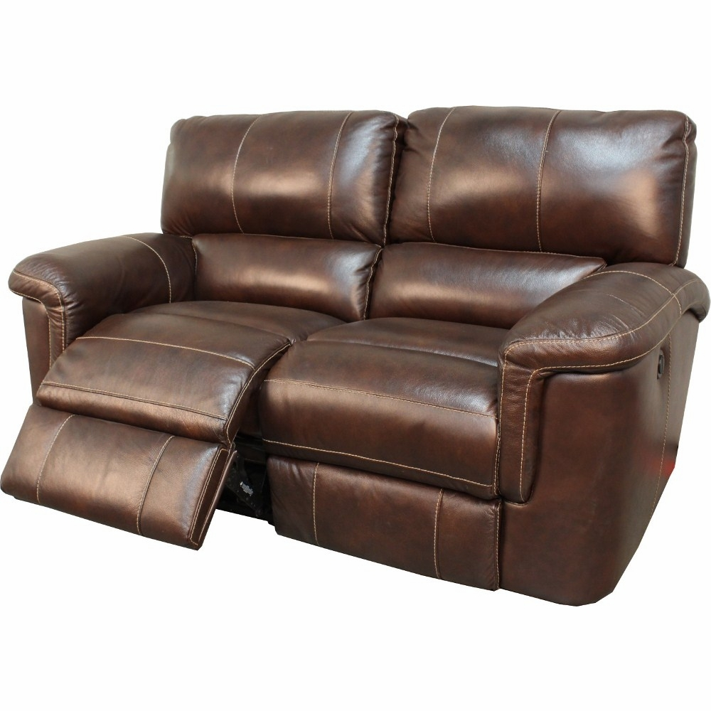 Parker House Hitchcock Loveseat Dual Power Recliner In