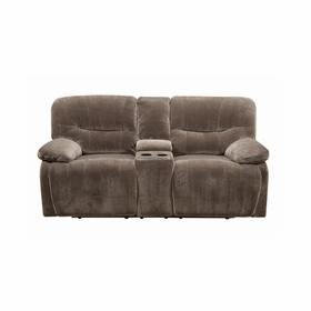 Power Reclining Loveseats by Emerald Home Furnishings