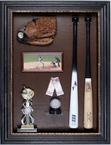 Baseball Memorabilia Display Case