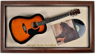 Guitar Display Case Acoustic & Bass