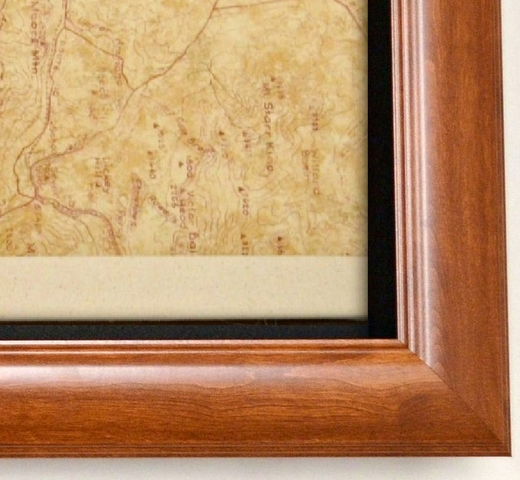Rifle Display Case Contemporary Style