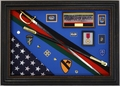"Military Shadow Box Display Case <br>Retirement Series 36""x 24"""