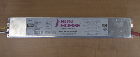 Ballast Electronic Sunhorse 210 / 220v  FEP-210-600L by Fulham