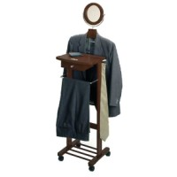 Valet Stand with Mirror