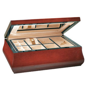 Wooden Jewelry Box Solid Teakwood