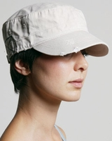 Personalized Logo Alternative Destroyed Military Cap