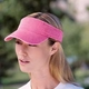 Personalized Logo Pigment-Dyed Twill Visor by Anvil