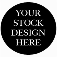 Embroidered Graphic on Shirt Sleeve Using Stock Design