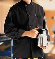 Chef Designs Black Traditional Chef Coat