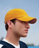 Champion Brushed Cotton 6-Panel Twill Baseball Hat - Team Colors