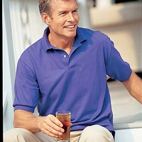 Outer Banks Pique Polo Shirt  - BULK Pricing including Custom Logo OR 2 Lines of Embroidered Text