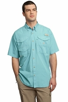 Columbia Sportswear Bonehead Short Sleeve Custom Embroidered Fishing Shirt