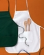 """Personalized Custom Embroidery Apron by Big Accessories 2-Pocket 24"""""""