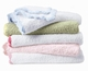Colorado Trading Crib Clouds Chunky Chenille Scalloped Edge Baby Blanket