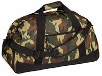 Port & Company® - Military Camo Basic Large Hunting Duffel Bag