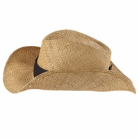 Big Accessories Straw Cowboy Hat